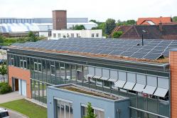 Das Gebäude der Energieversorgung Sehnde GmbH