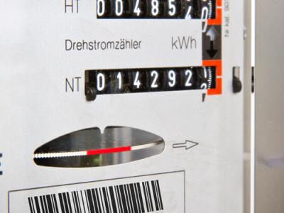 Stromzähler Hoch- und Niedertarif